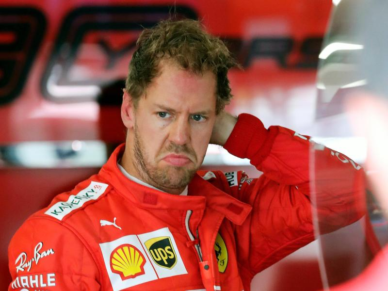Sebastian Vettel wird Ferrari verlassen. Foto: Tom Boland/The Canadian Press/AP/dpa                                 Tom Boland